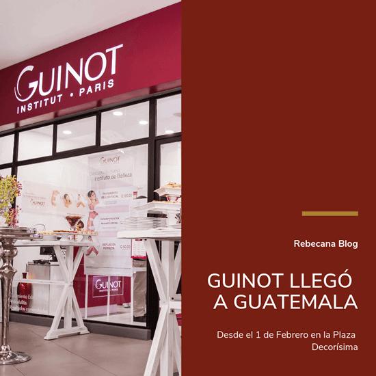 Guinot Llego A Guatemala
