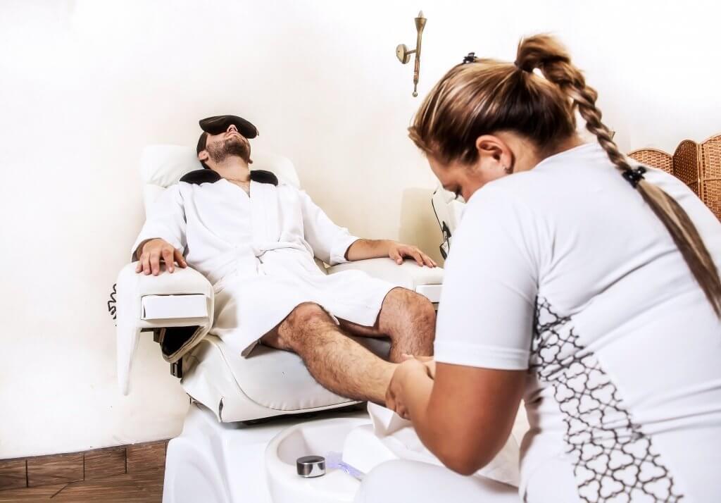 Pedicure Clinico en Hombres