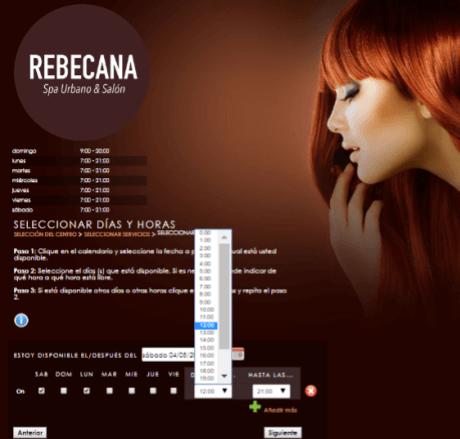 Paso 11 Cita On Line Rebecana.com