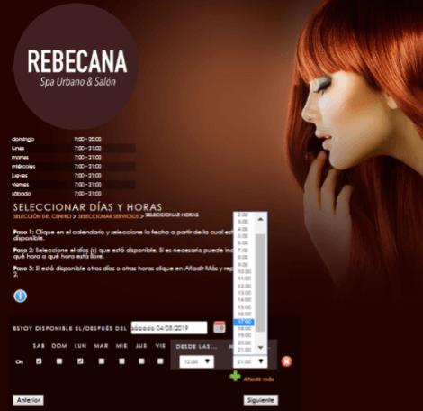 Paso 12 Cita On Line Rebecana.com