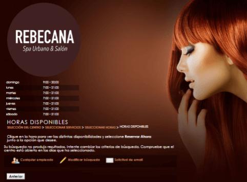 Paso 13 Cita On Line Rebecana.com