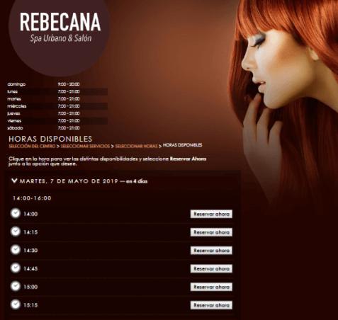 Paso 14 Cita On Line Rebecana.com