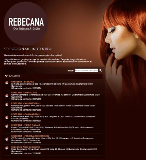Paso 2 Cita On Line Rebecana.com