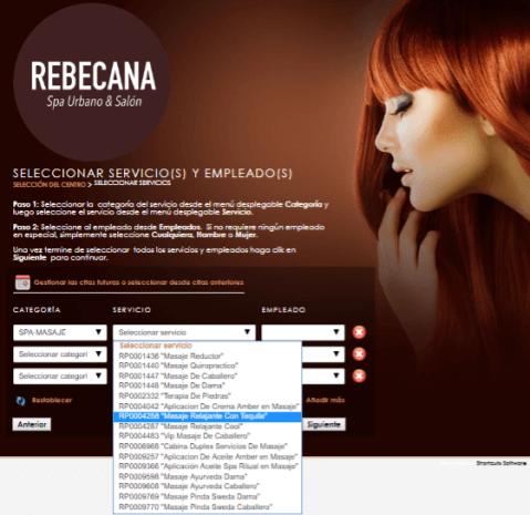 Paso 5 Cita On Line Rebecana.com