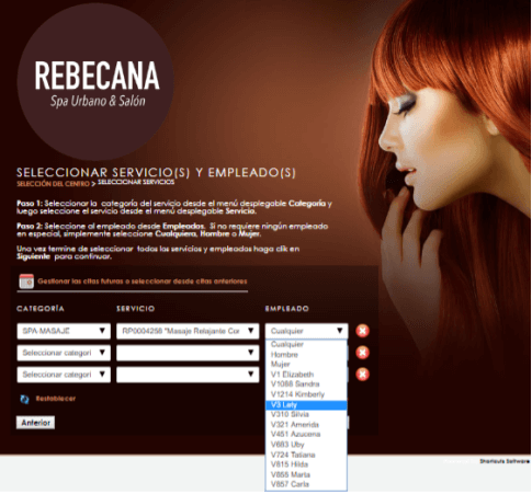 Paso 6 Cita On Line Rebecana.com