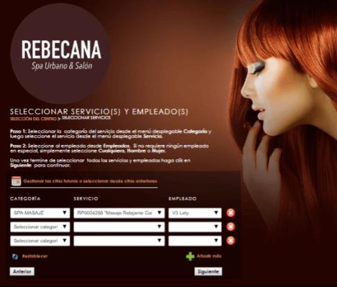 Paso 7 Cita On Line Rebecana.com