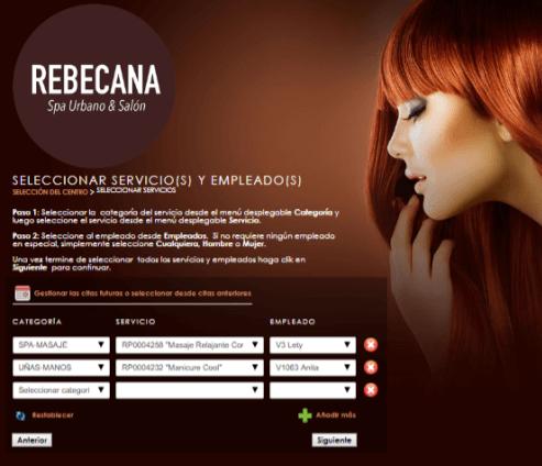 Paso 8 Cita On Line Rebecana.com