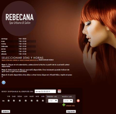 Paso 9 Cita On Line Rebecana.com