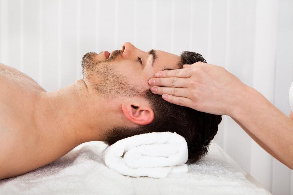 masajes faciales para hombres