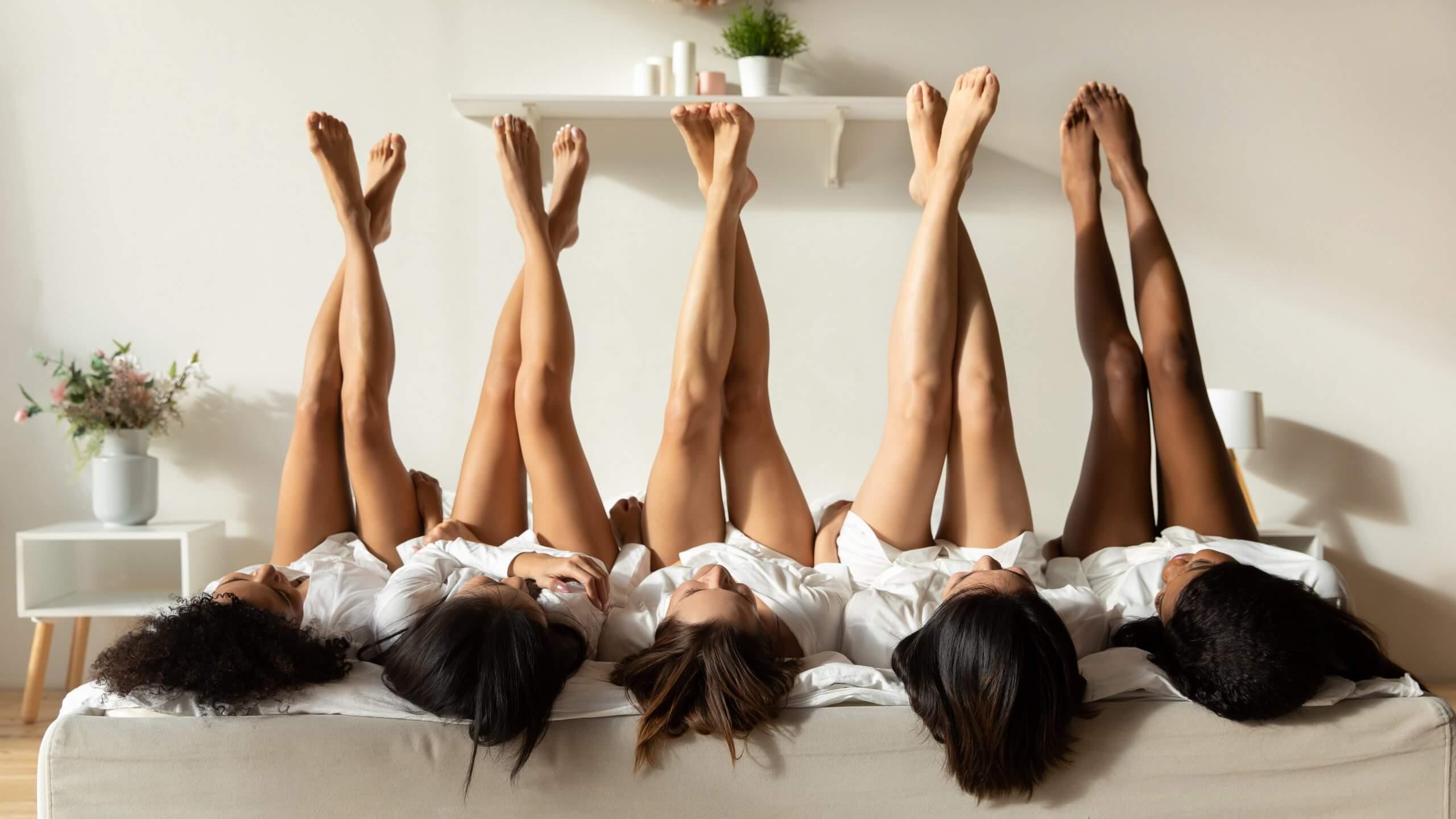 Mujeres depilación